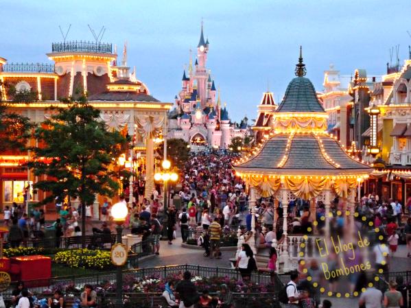Disney atardecer