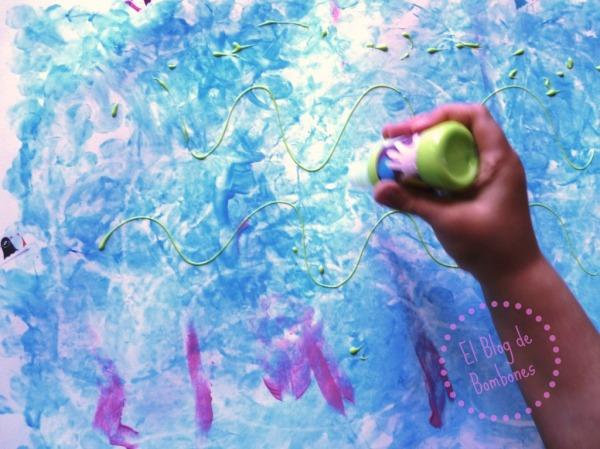 Pintar con los dedos 2