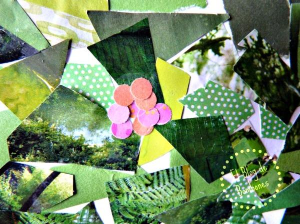 Collage - Detalle de las flores