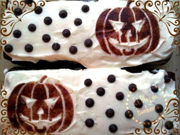 Pastel de Halloween