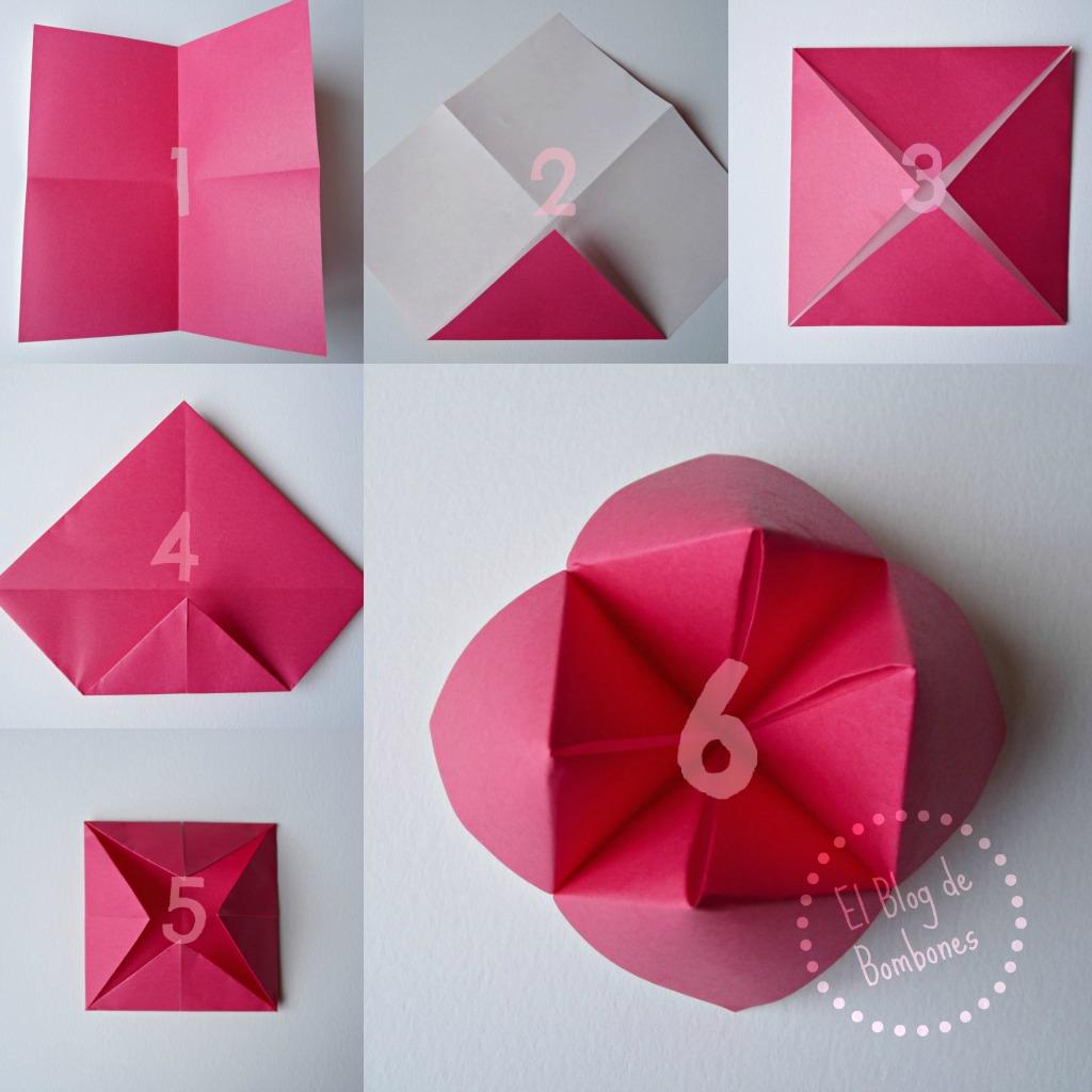 Juegos de imitaci n con comecocos el blog de bombones - Como hacer cosas de papel paso a paso faciles ...