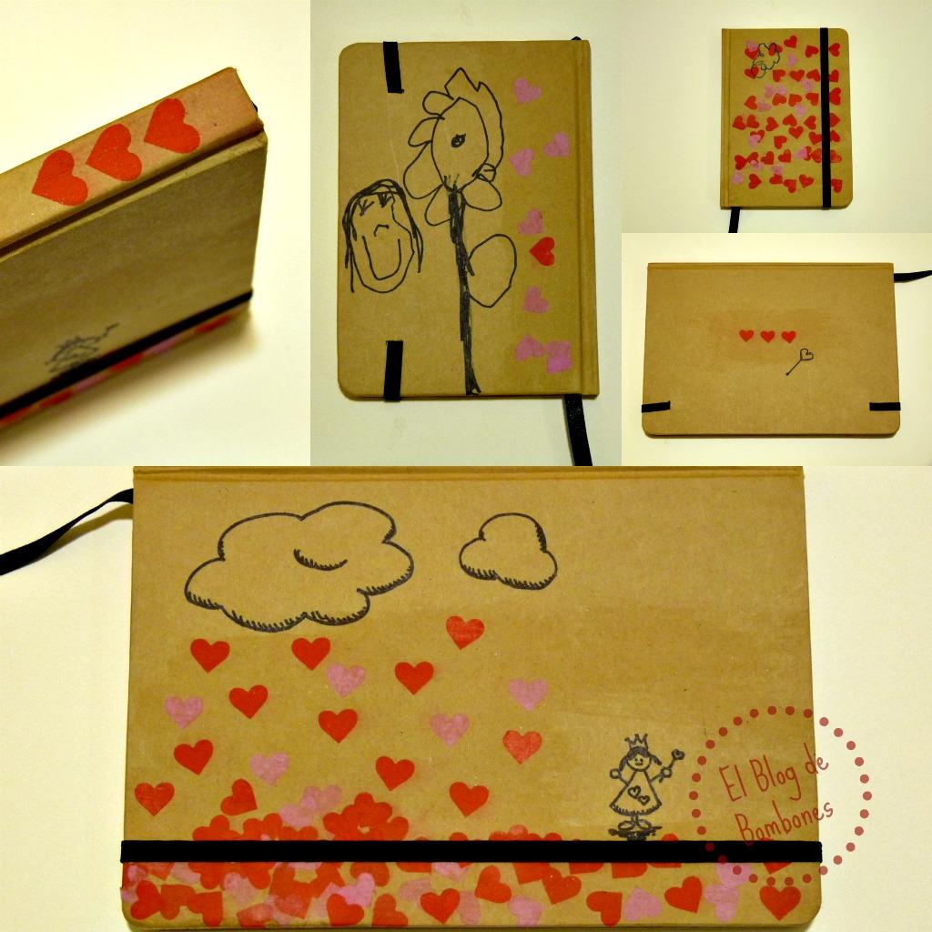 Libretas amorosas para regalar el blog de bombones - Que regalar para una casa ...