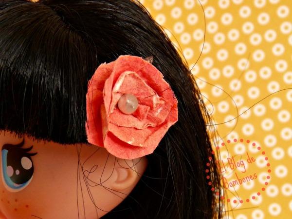 Flor del pelo