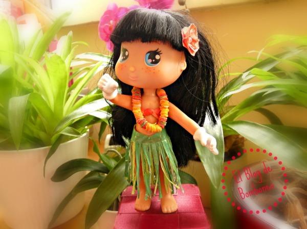 Disfraz de Hawaiana para muñecos