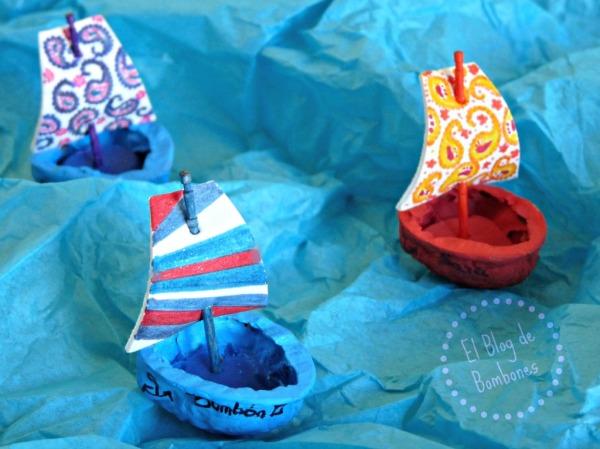 Bartquitos de cascara de nuez en un mar de papel
