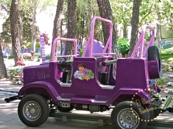 Jeep la aventura de Dora