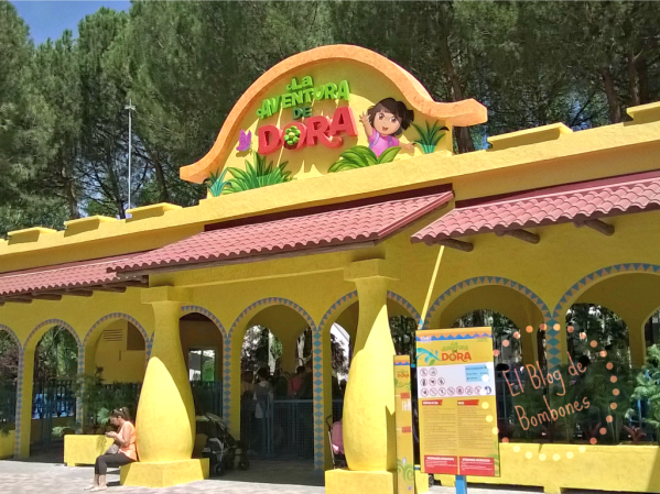 Dora's yelow house