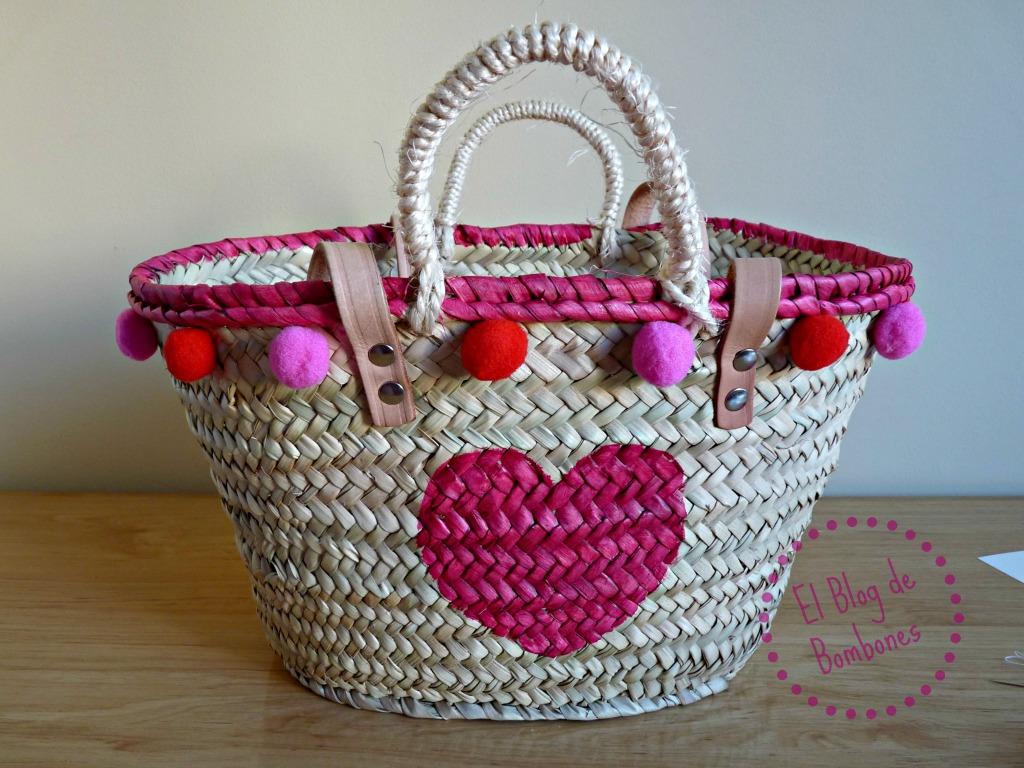 El capazo de las celebrities tambi n para ni a el blog - Como adornar cestas de mimbre ...