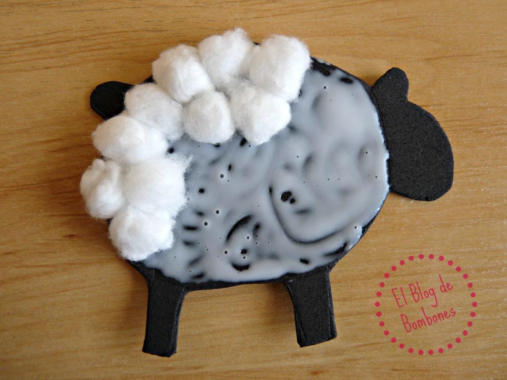 Goma eva el blog de bombones - Como hacer una oveja ...