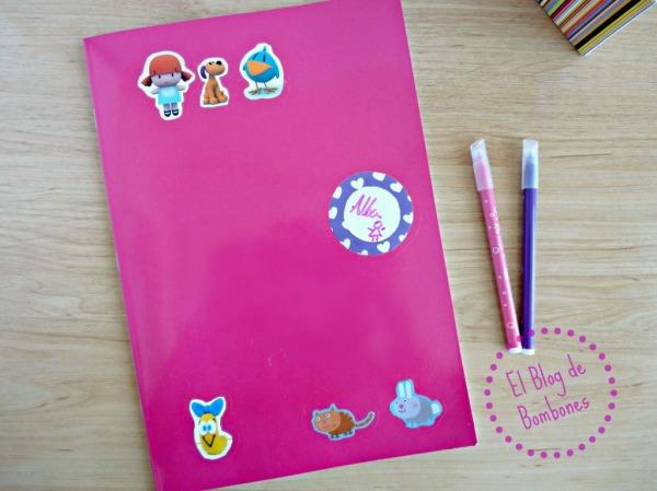 Decorando nuestros cuadernos