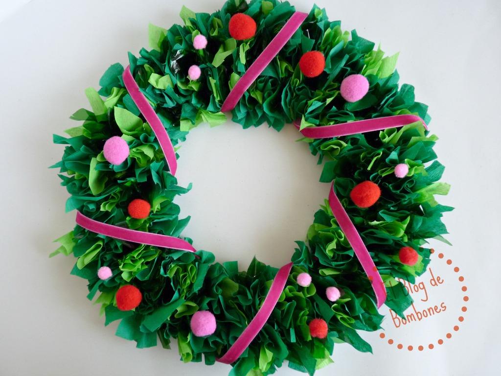 Como Hacer Una Corona De Navidad Con Los Mas Pequenos El Blog De