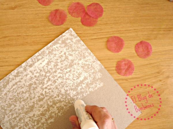 Témpera sólida en cartón