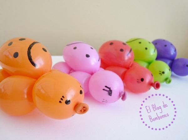 MAriquitas de globos para fiestas