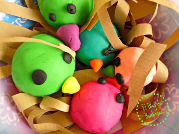 Pascua - Nido de pollitos