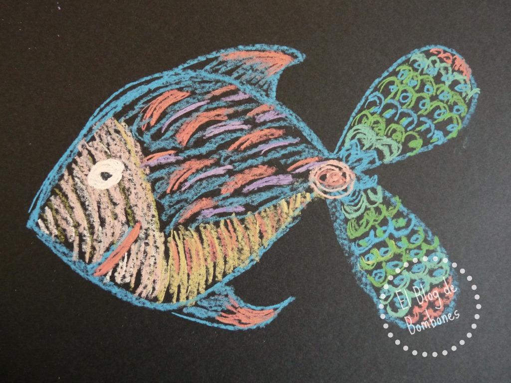 Como Dibujar Con Pasteles En Cartulina Negra El Blog De Bombones