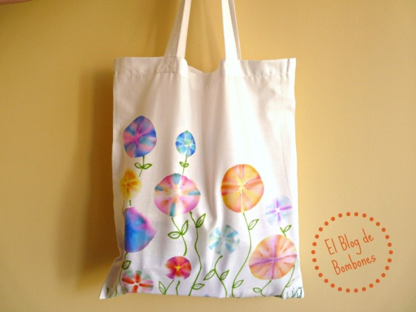 Shopping bag pintada a mano