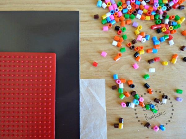 Como hacer imanes de hama beads