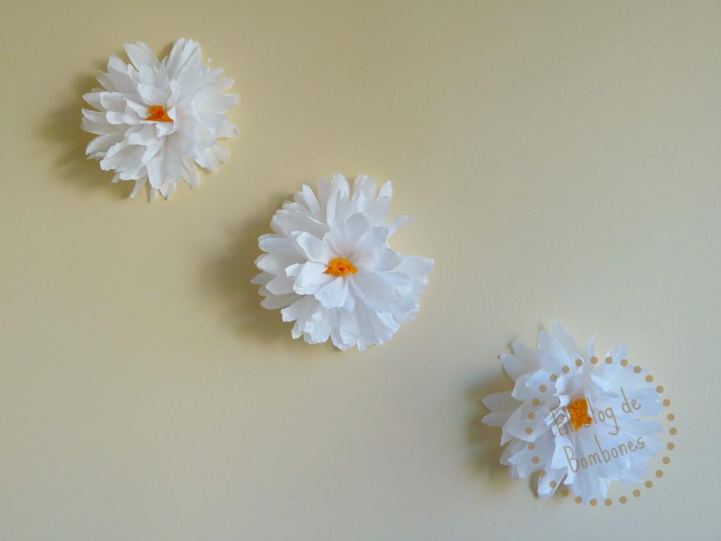 El blog de bombones ideas de manualidades infantiles - Decorar pared con papel ...