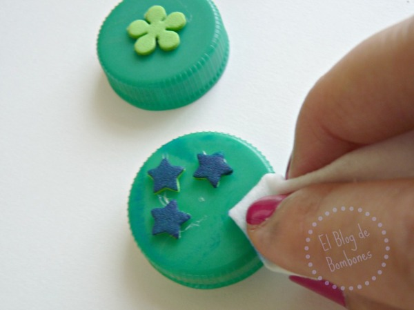 Tinta para los sellos