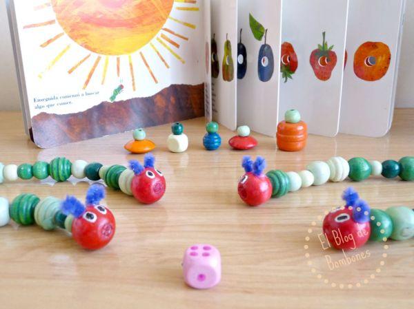 El juego de la oruga glotona