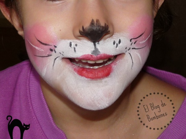 Maquillaje de gatita
