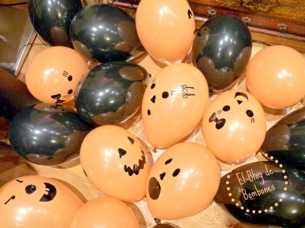 Fiesta de Halloween con decoración express