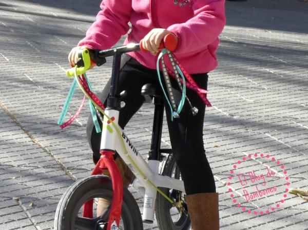 Adornos para bici de niño