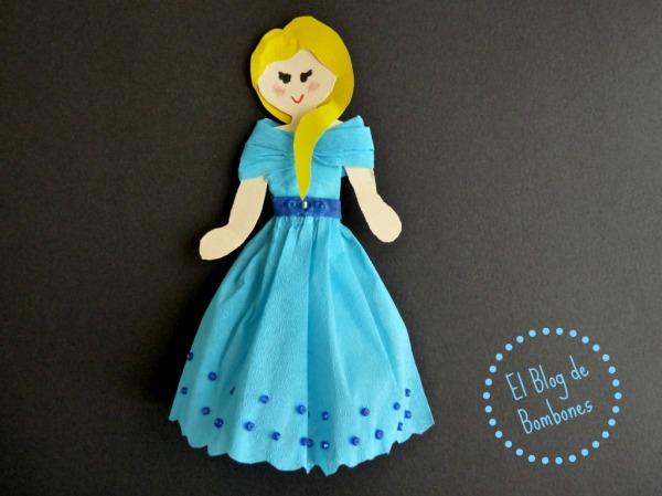Muñecas de papel - Princesa