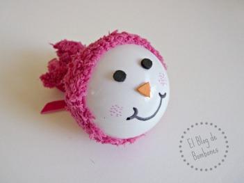 Bola de Navidad - Muñeco de nieve