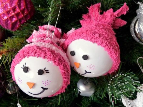 Manualidades para navidad el blog de bombones - Manualidades munecos de navidad ...