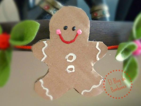 Gingerman de cartón