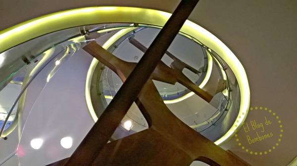Escalera - Espacio Fundación Telefónica