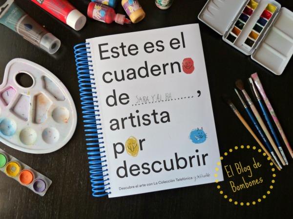 Cuaderno de artistas por descubrir